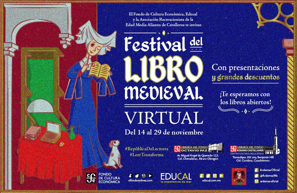 FESTIVAL DEL LIBRO MEDIEVAL EN EL FCE